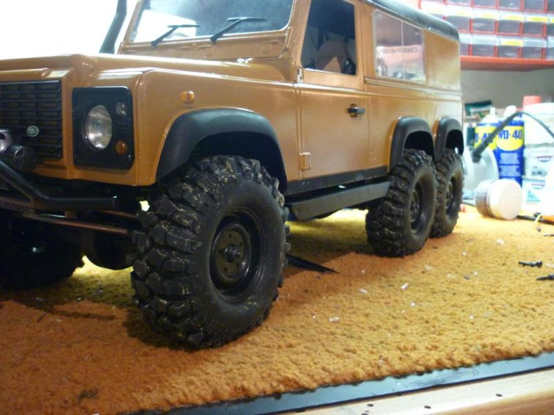 Land Rover Defender 6x6 Rccrawler