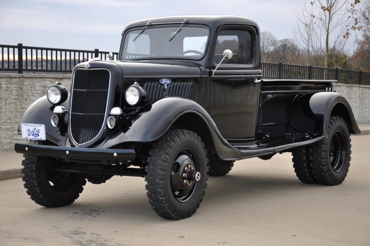 1935 Ford Dually Rccrawler