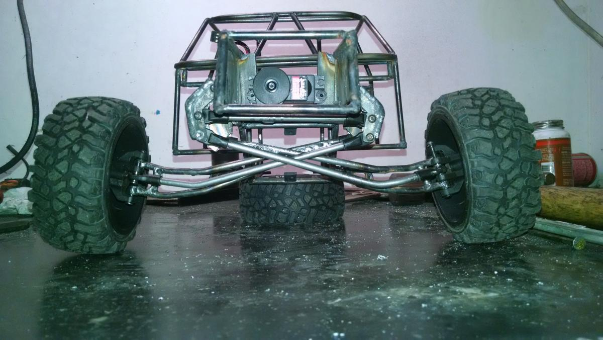 1/10 RC Scale Monster Rock Crawler 4X4 TRUCK with JK Red