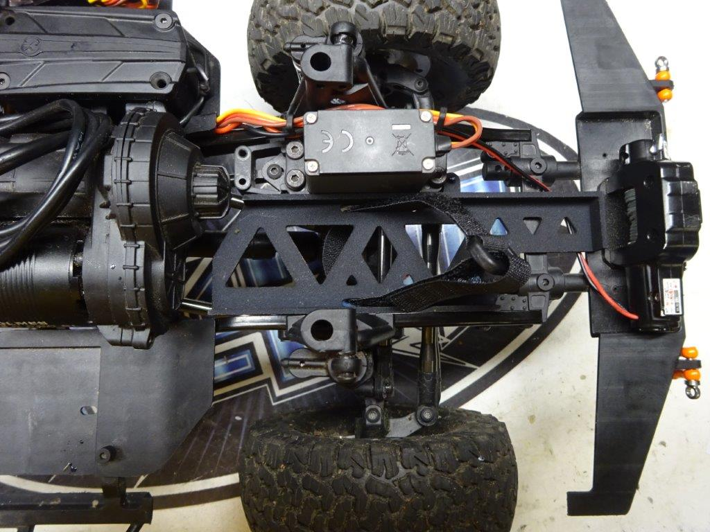 BowHouse RC Forward Mount Tranmission Cradle - RCCrawler