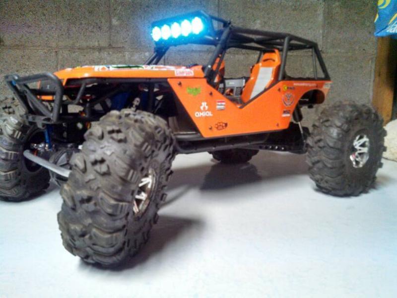 Orange Wraith Rccrawler