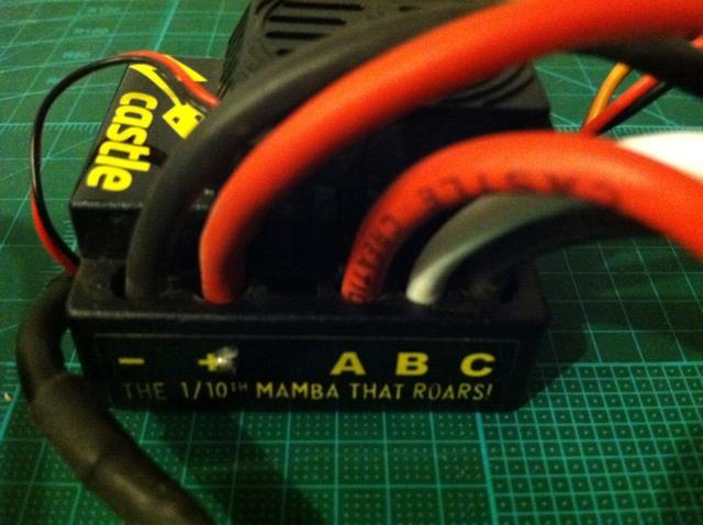 mamba max pro motor wires help rccrawler rh rccrawler com