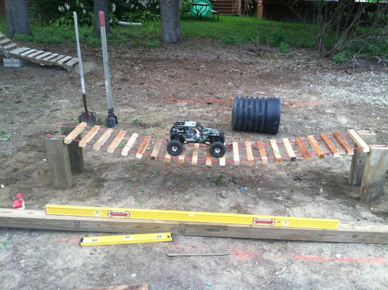 Started building my crawling course today! - RCCrawler