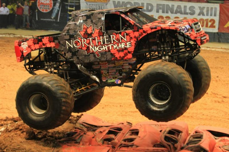 Northern Nightmare Monster Truck Free Coloring Pages