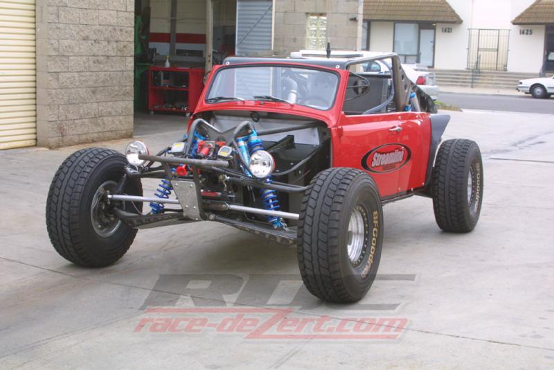 Baja Bug Long Travel Suspension >> Brandon's EXO + VW Baja Bug Project - RCCrawler