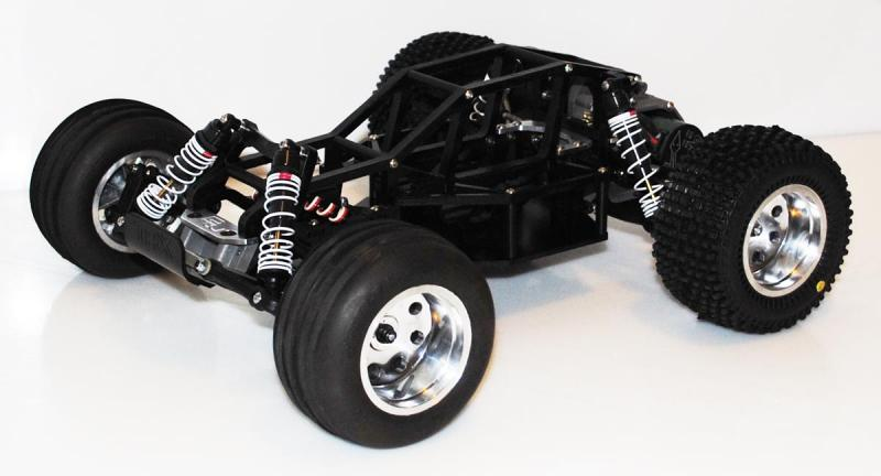 BWD 2WD Bodiless Basher Extreme Conversion for Traxxas Slash