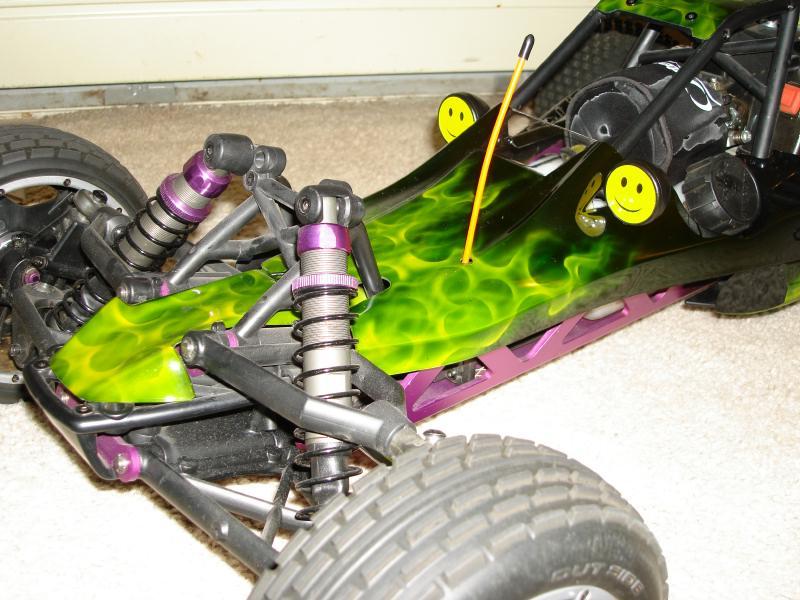 HPI Baja 5B, new body painted by FTR    - RCCrawler