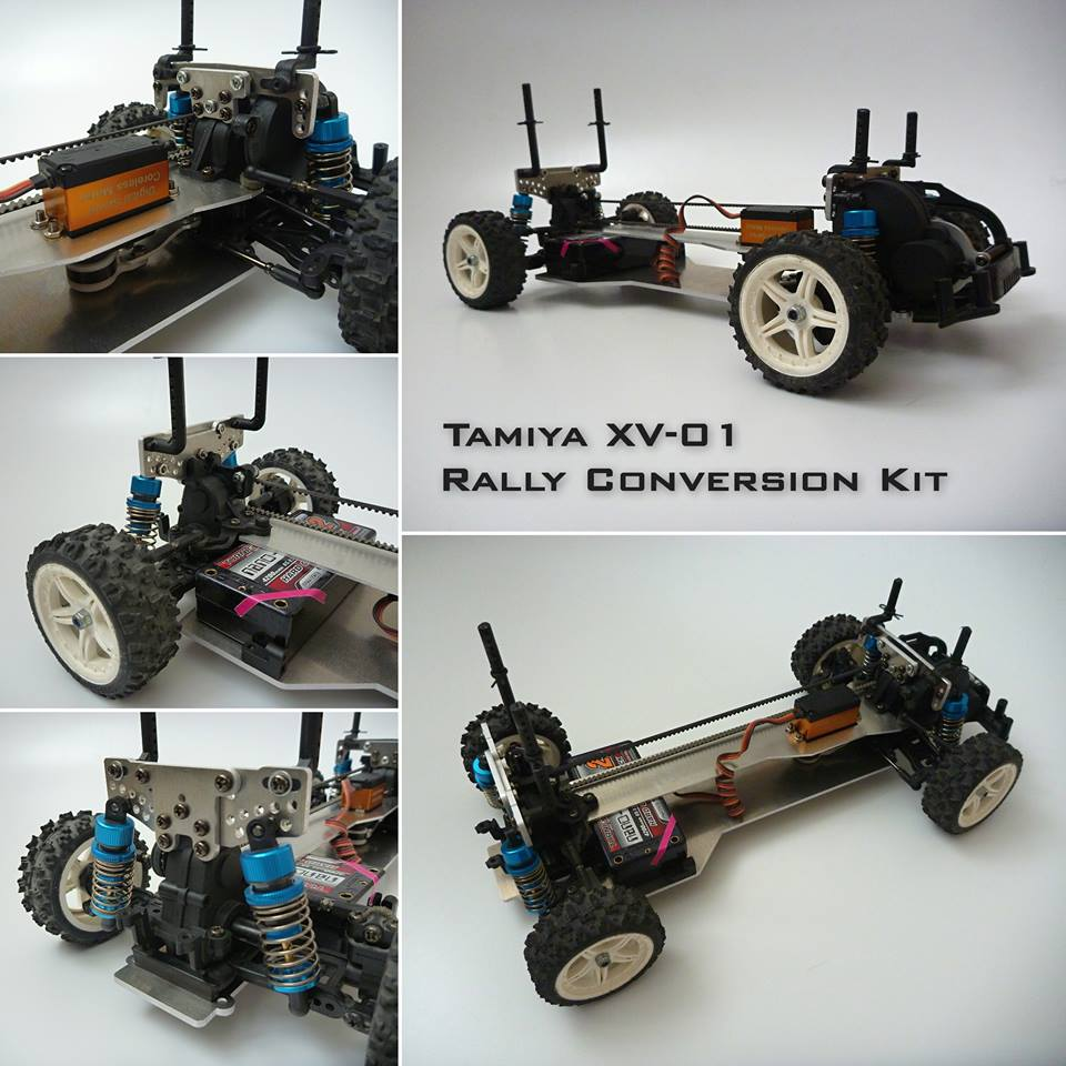 Aluminum xv 01 chassis rccrawler for Chassis aluminium