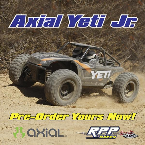 355486d1487121463 axialyetijr 600 Axial Yeti Jr.   Open for Pre Order!