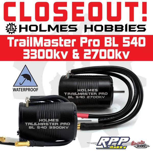 373251d1529434103 holmesh 540closeout600 CLOSEOUT Holmes Hobbies TrailMaster Pro BL 540 3300kv & 2700kv!