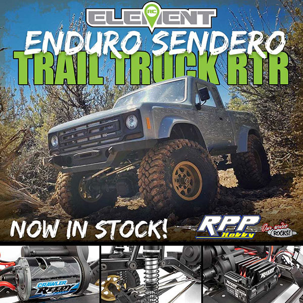 Element RC Enduro Sendero Trail Truck RTR - Now In Stock